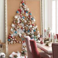 как украсить елку в 2018 году фото интерьер