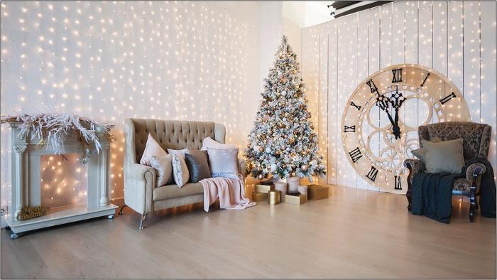 декор елки в 2018 году