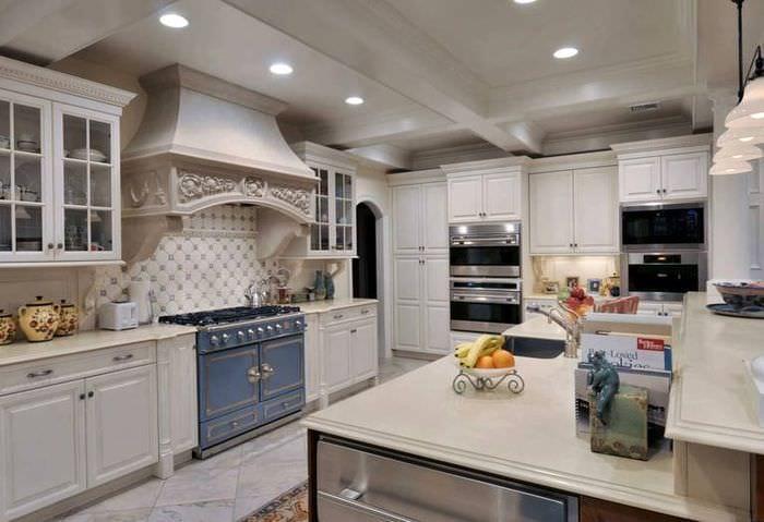 дизайн кухни в стиле прованс 80 лучших идей оформления и декора