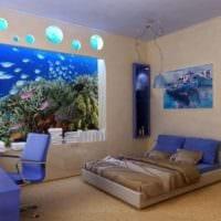 комната для подростка морская тема