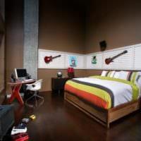 комната для подростка музыкальная тема