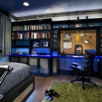 комната для подростка спортивная тема