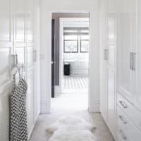 дизайн гардеробной коридора