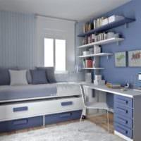 комната для подростка корпусная мебель