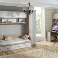 светлая комната для подростка