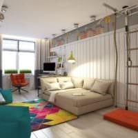 комната для подростка пример дизайна