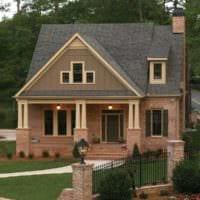 крыльцо частного дома