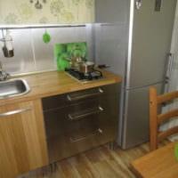 кухня 5 кв метров хрущевка
