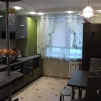 кухня 3 на 3 интерьер