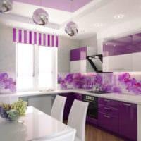 кухня 3 на 3 орхидеи