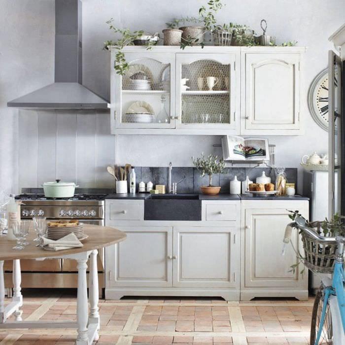 кухня прованс обустройство