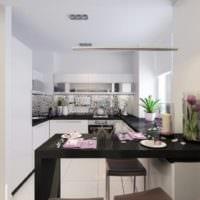 кухня с балконом идеи фото