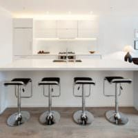 кухня столовая гостиная в частном доме идеи дизайна