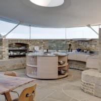 кухня в стиле лофт фото оформления