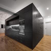 кухня в стиле лофт гарнитур
