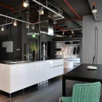 кухня в стиле лофт идеи дизайна