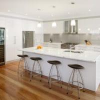 кухня в стиле модерн фото идеи