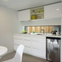 кухня в стиле модерн планировка