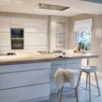 кухня в стиле модерн современный дизайн