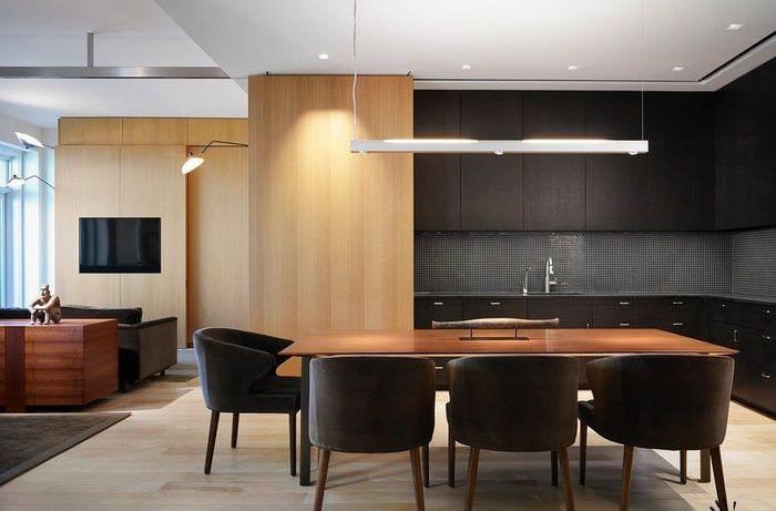 кухня венге дизайн фото