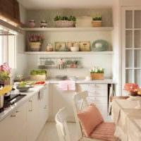 кухня прованс декор