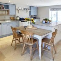 кухня прованс дизайн