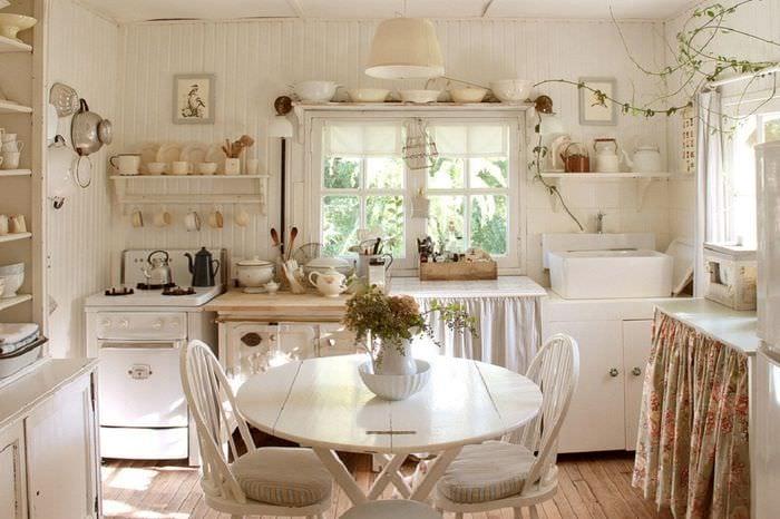 кухня прованс оформление