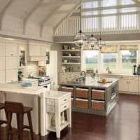 кухня прованс современный интерьер