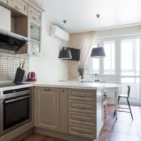 кухня прованс светлая