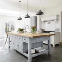 кухня прованс в доме