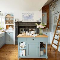 кухня прованс в своем доме