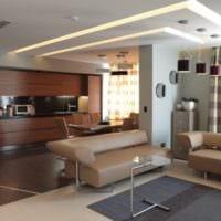 кухня столовая гостиная в частном доме дизайн
