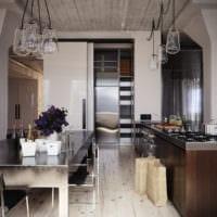 кухня венге богатый интерьер