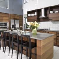 кухня венге современный дизайн