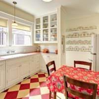 маленькая кухня ретро