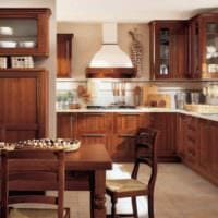 кухня на даче фото интерьера