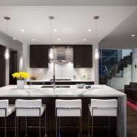 кухня в стиле модерн дома