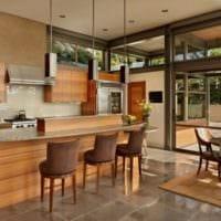 кухня в стиле модерн современная
