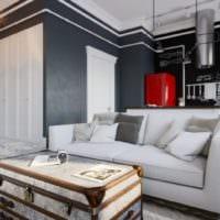 дизайн квартиры студии лофт