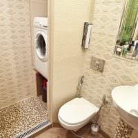 использование пространства в ванной