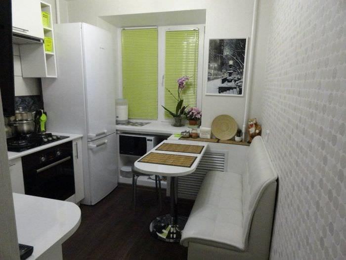 маленькая кухня 3 на 3 метра