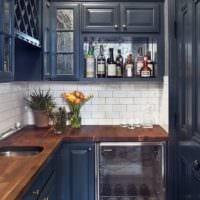 кухня 3 кв. метра с гарнитуром