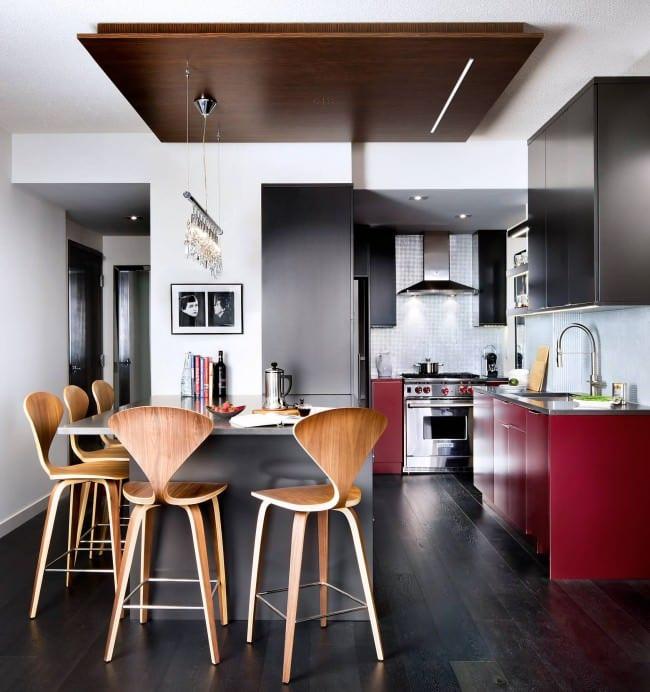 кухня студия модерн