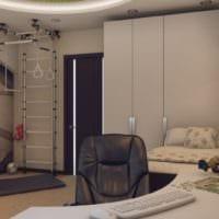 спальная комната для подростка