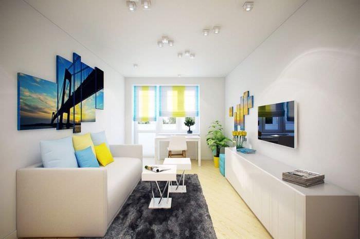 оригинальный интерьер квартиры