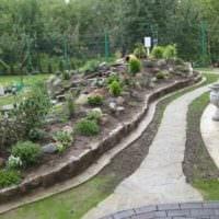 идея яркого декора огорода на даче фото