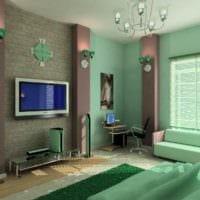 вариант светлого интерьера гостиной 15 кв.м картинка