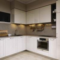 вариант яркого дизайна кухни 11 кв.м картинка