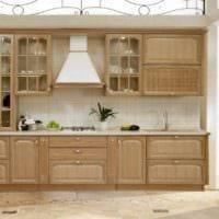 вариант светлого стиля кухни в классическом стиле картинка