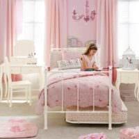 идея красивого стиля детской комнаты для девочки картинка